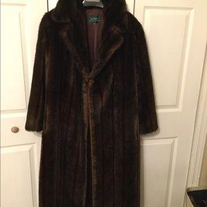 ...Beautiful faux fur coat